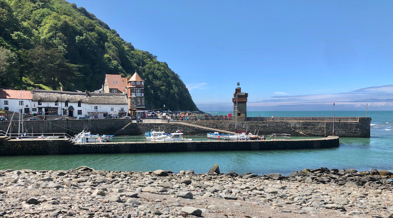 Lynmouth-Harbour-Rhenish-Tower