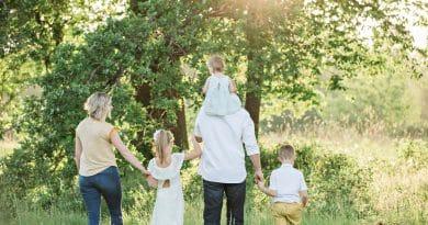 Family visits holidays
