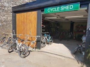 Exmoor Coast Holidays Caffyns Farm Cycle Shed