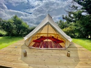 Lynmouth holiday retreats glamping tent scaled