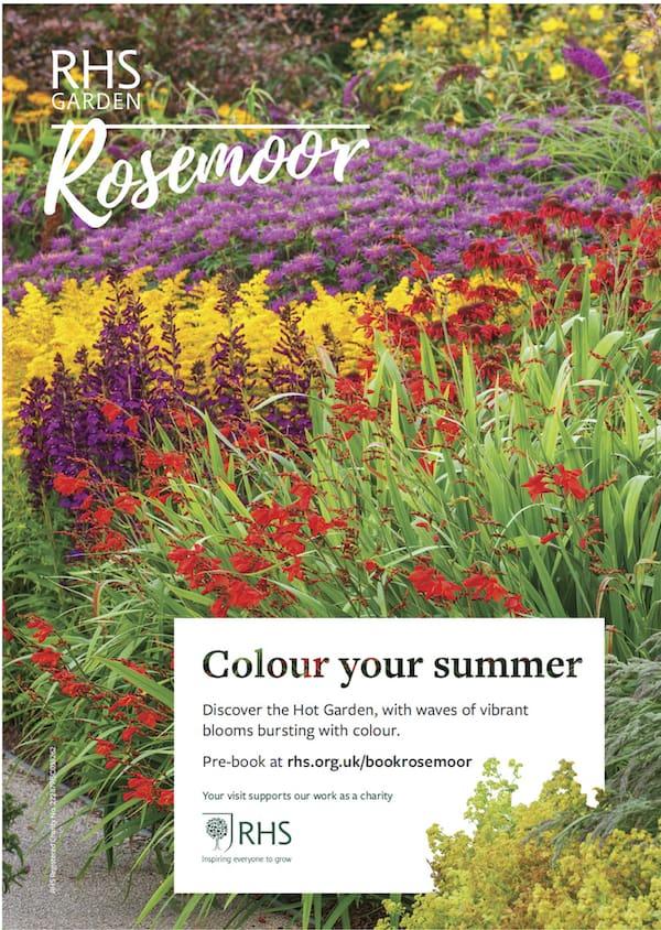 RHS Rosemoor Colour your Summer
