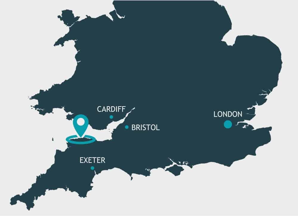 explore map lynton lynmouth