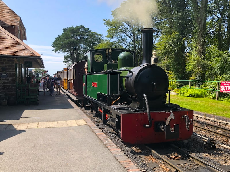 Woody Bay Steam Train