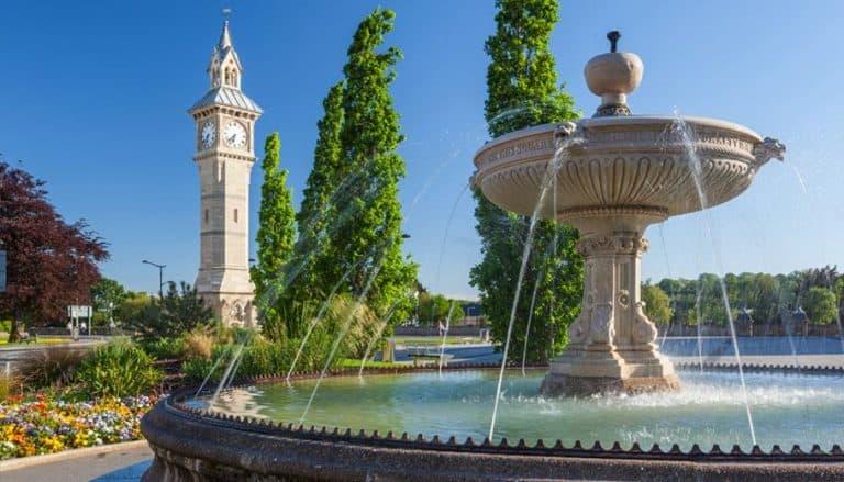 barnstaple square fountain