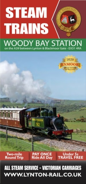 Lynton & Barnstaple Steam Railway leaflet