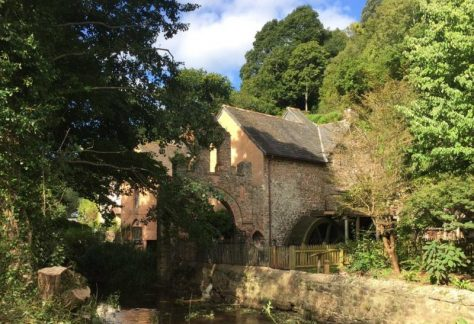marvellous milling at dunster watermill