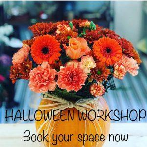 Halloween flower Workshop