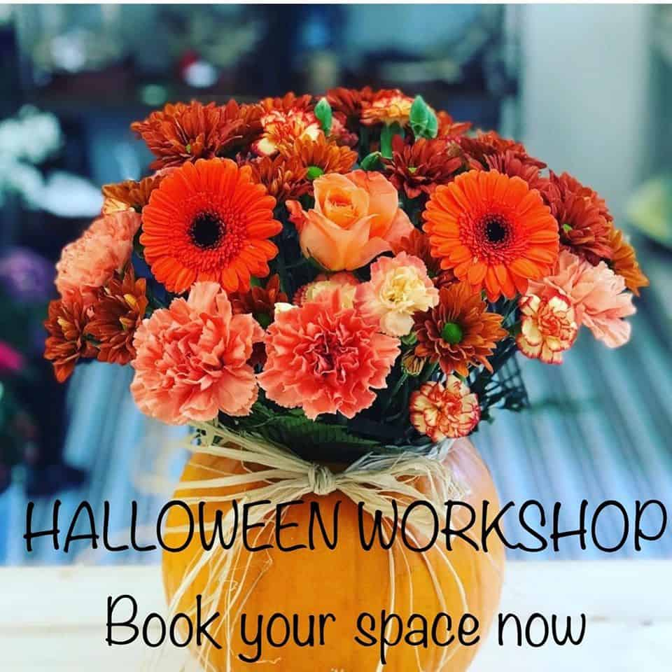 Halloween flower Workshop