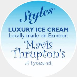 Styles Mavis Thrupton Lynmouth Ice Cream