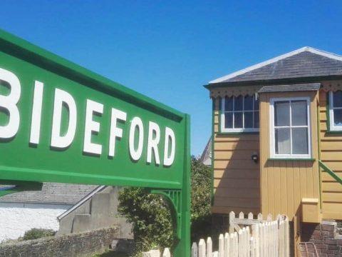 Bideford Nameboard