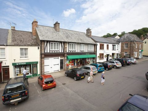 Exmoor National Park Dulverton High Street