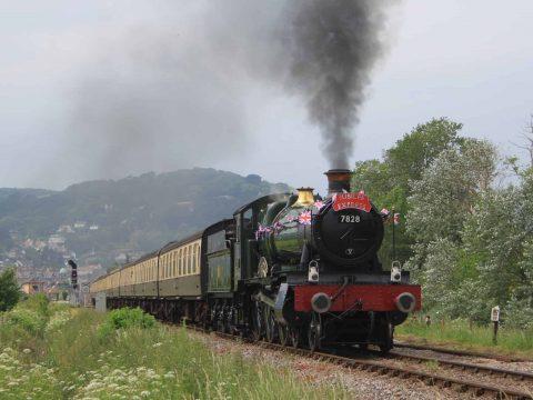 Minehead 7828 Jubilee Express