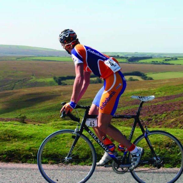 Road cycling on Exmoor